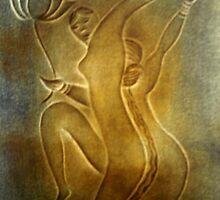 Dancing Flowers by Shree