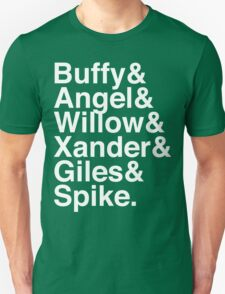 The Scooby Gang Classic White T-Shirt