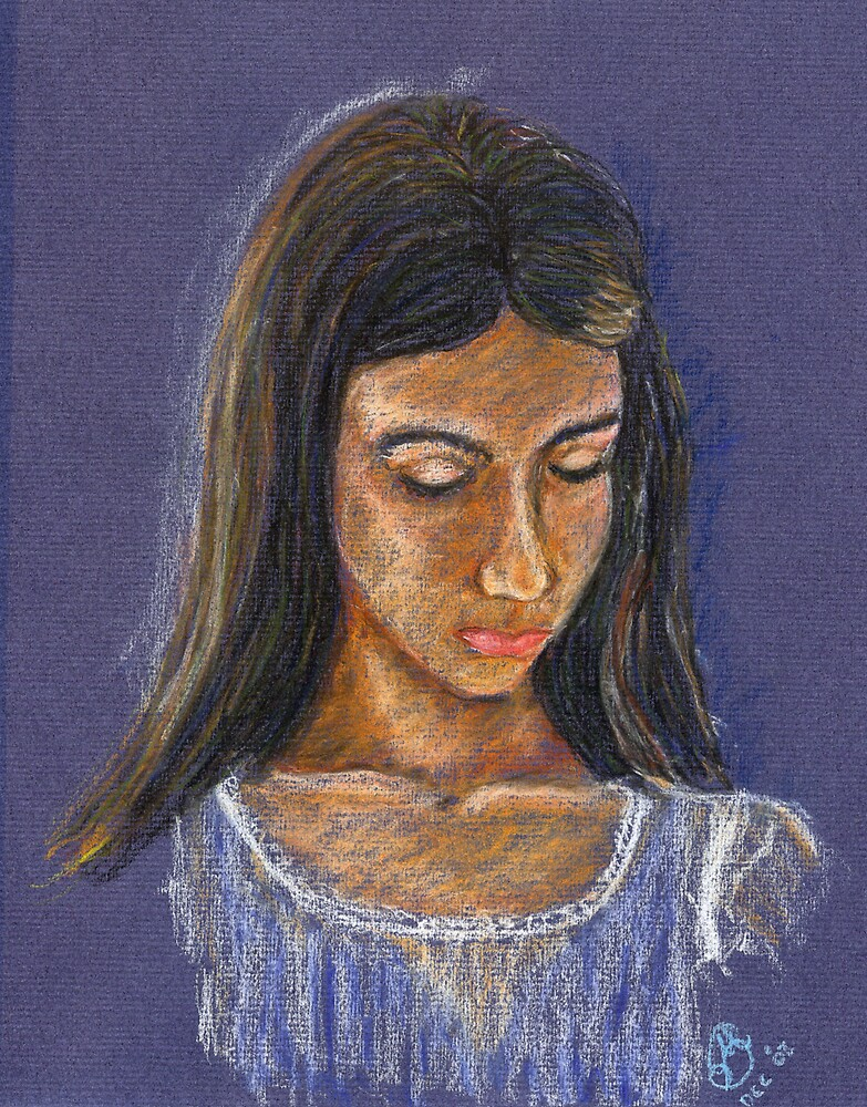 Portrait of Kirsten by Marilyn Brown