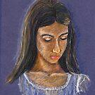 Portrait of Kirsten by Marilyn Brown