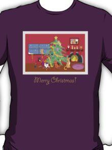 Kittens' First Christmas T-Shirt