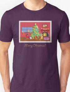 Kittens' First Christmas Unisex T-Shirt