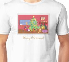 Kittens' First Christmas Unisex T-Shirt