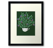 A Cup of Tea (Jasmine) Framed Print