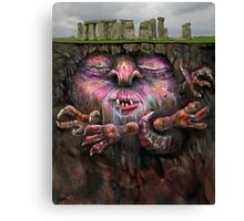Sleepy Henge Canvas Print