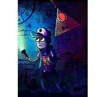 Gravity Falls (Print and Phone Case) Photographic Print