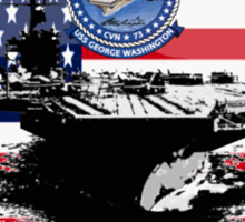 CVN-73 USS George Washington Sticker
