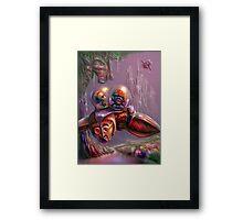 """Beatle"" Race Framed Print"