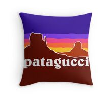Patagucci Canyons Throw Pillow