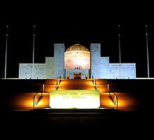 War Memorial Canberra by Steven  Agius