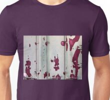 Closeup of cargo shipping containers Unisex T-Shirt