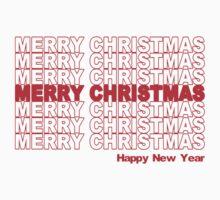 Merry Christmas Retro Holiday by TheShirtYurt