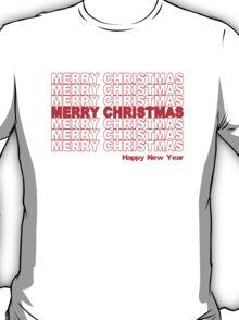 Merry Christmas Retro Holiday T-Shirt