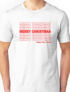 Merry Christmas Retro Holiday Unisex T-Shirt