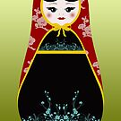 Matryoshka Greeting by littlegirllost