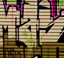 Wear a Wall # 2 Sticker