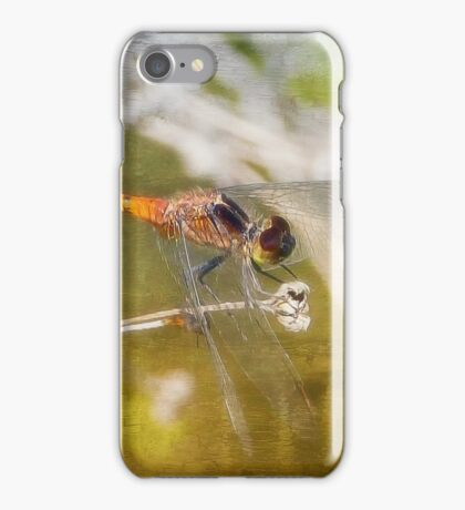 Dragonfly digital art 01 iPhone Case/Skin