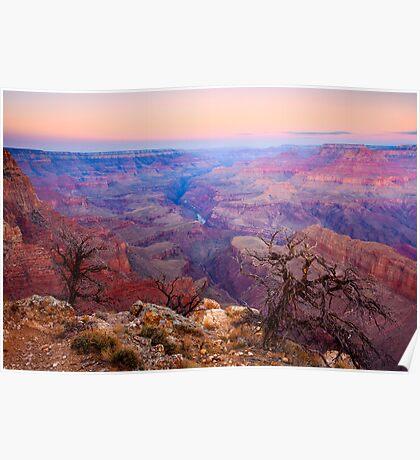 Grand Canyon Dawn Poster