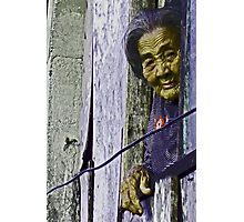 The Face Of Poverty Photographic Print