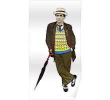 The 7th Doctor - Sylvester McCoy Poster