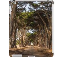 Cypress Trees, Point Reyes National Seashore iPad Case/Skin