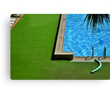 Swimming-pool Canvas Print