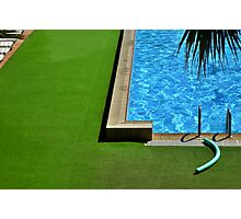 Swimming-pool Photographic Print