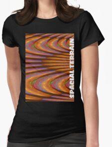 Spacial Terrain Womens Fitted T-Shirt