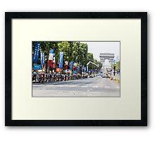 Champs-Élysées Framed Print
