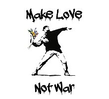 Make Love, Not War Photographic Print