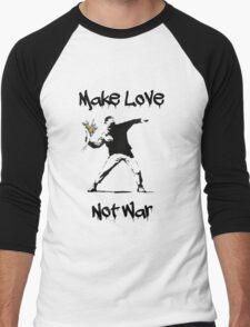 Make Love, Not War Men's Baseball ¾ T-Shirt