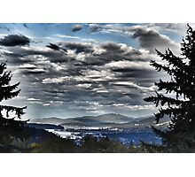 Vancouver from Cypress Mountain Photographic Print