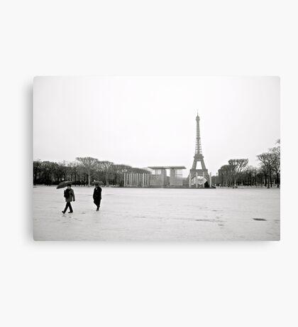 Eiffel Tower Paris, France. Canvas Print