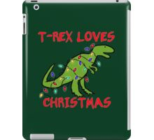 T-REX LOVES CHRISTMAS iPad Case/Skin