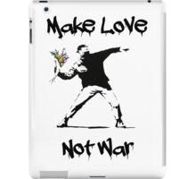 Make Love, Not War iPad Case/Skin
