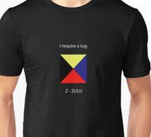 Z - Zulu - I require a tug Unisex T-Shirt