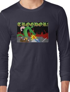 Trogdor the Burninator Long Sleeve T-Shirt