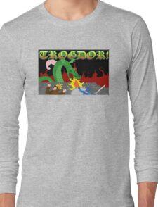 Trogdor the Burninator Long Sleeve T-Shirt