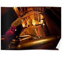 Giant Buddha Poster