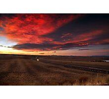 The Sunrise Highway 2 Photographic Print
