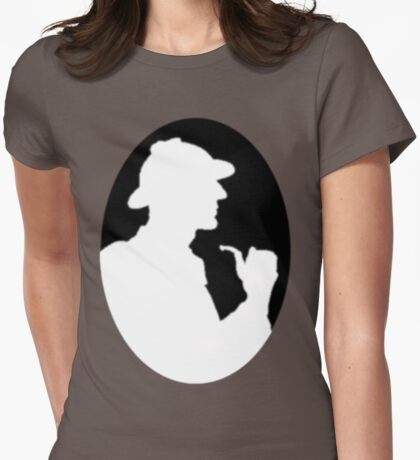 Sherlock Holmes2 Womens Fitted T-Shirt