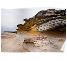 Sand Stone Wall Poster
