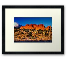 Glow Of the Morning Framed Print