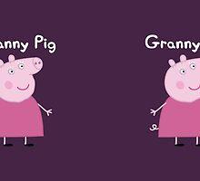 Granny Pig Mug by Russ Jericho