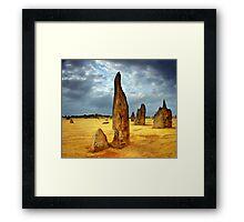 Desert Pinnacle Framed Print