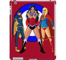 Batgirl, Wonder Woman and Supergirl - The New 52 (Target) iPad Case/Skin