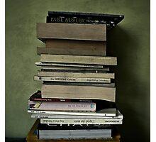 { books } Photographic Print