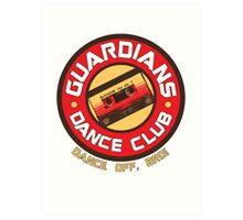 Galaxy Dance Club Art Print