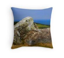 ancient stone Throw Pillow