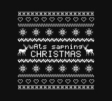 wAts sapning CHRISTMAS (light text) Pullover